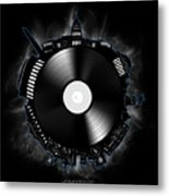 Washington Dc Skyline Vinyl 10 Metal Print