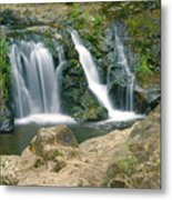 Washington Falls 3 Metal Print