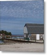Washington Island Harbor 1 Metal Print