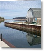 Washington Island Harbor 2 Metal Print