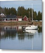 Washington Island Harbor 4 Metal Print