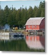 Washington Island Harbor 6 Metal Print