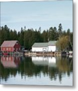 Washington Island Harbor 7 Metal Print