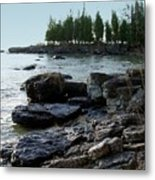 Washington Island Shore 1 Metal Print