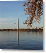Washington Monument Metal Print by Megan Cohen
