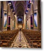 Washington National Cathedral Interior Metal Print
