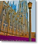 Washington National Cathedral Travel Metal Print