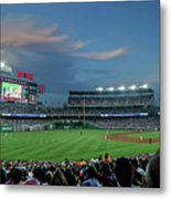 Washington Nationals In Our Nations Capitol Metal Print