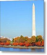 Washington On A Autumn Day Metal Print