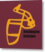 Washington Redskins Retro Metal Print