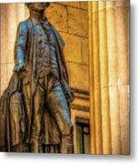 Washington Statue - Federal Hall #2 Metal Print