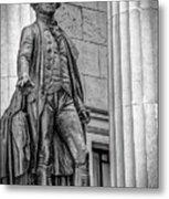 Washington Statue - Federal Hall #3 Metal Print