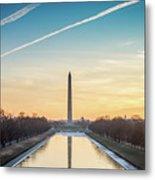Washington Sunrise Metal Print