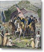 Washington: Trenton, 1789 Metal Print