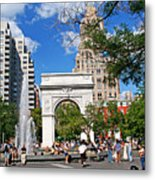 Washingtone Square New York Metal Print