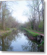Washingtons Crossing - Along The Delaware Canal Metal Print