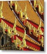 Wat Benjamabophit Metal Print