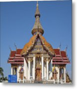 Wat Chaimongkron Phra Wihan Dthcb0088 Metal Print