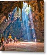 Wat Khao Luang Metal Print
