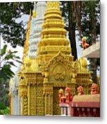 Wat Krom 30 Metal Print