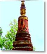 Wat Krom 32 Metal Print