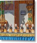 Wat Mae Faek Luang Phra Wihan Daily Merit Bowls Dthcm1879 Metal Print