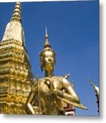 Wat Phra Kaeo Metal Print