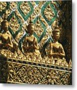 Wat Phra Keo (grand Palac Metal Print