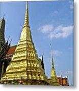 Wat Po Bangkok Thailand 18 Metal Print