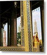Wat Po Bangkok Thailand 22 Metal Print