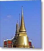 Wat Po Bangkok Thailand 3 Metal Print