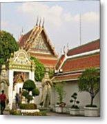 Wat Po Bangkok Thailand 35 Metal Print