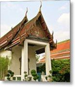 Wat Po Bangkok Thailand 39 Metal Print