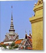 Wat Po Bangkok Thailand 6 Metal Print
