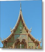 Wat Suan Prig Phra Wihan Gable Dthcm2391 Metal Print