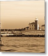 Watch Hill Light 2 Metal Print