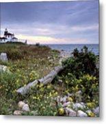 Watch Hill Lighthouse - Fm000062 Metal Print