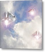 Watch The Sky Metal Print