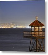 Watch Tower Of The West Metal Print