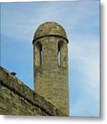 Watch Tower On The Castillo Metal Print