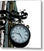 Watch Metal Print