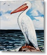 Watcher Of The Sea Metal Print