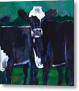 Watchers From The Green Metal Print