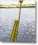 Watching From Number 2 Metal Print
