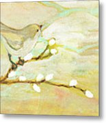 Watching The Clouds No 3 Metal Print