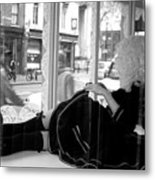 Watching You But You Do Not See Me Metal Print