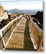 Watchtower Lookout, Ben Lomond, Tasmania Metal Print