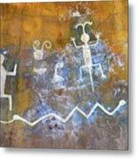 Watchtower Rock Art  Metal Print