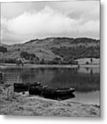 Watendlath Tarn In The Lake District Cumbria Metal Print