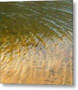 Water Abstract - 1 Metal Print